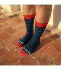 LE MR.Fleming STRIPE SOCK