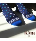 LE MR.Fleming Big Dot Dark Blue